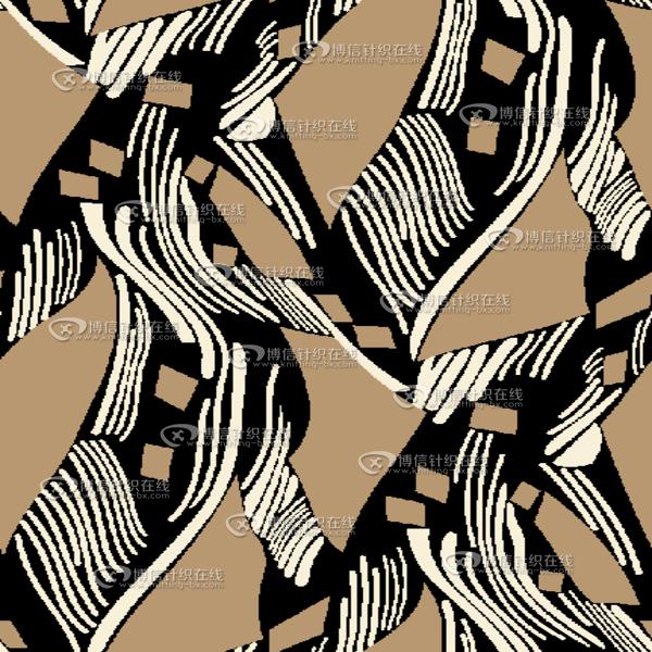 bh1476 印花花型 线条类型-博信针织在线
